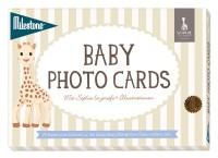 Baby Photo Cards von Milestone™- Sophie la girafe - deutsche Version - Einzelset