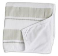 Childhood Blanket Kinderdecke - Grey Stripe