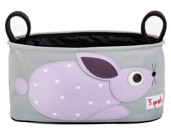 3 Sprouts - Kinderwagentasche / Kaninchen