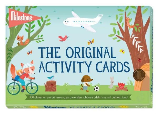 The Original Activity Cards von Milestone™- deutsche Version