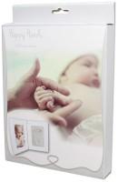 Happy Hands - Hand & Fußabdruckset - weißer Doppelrahmen
