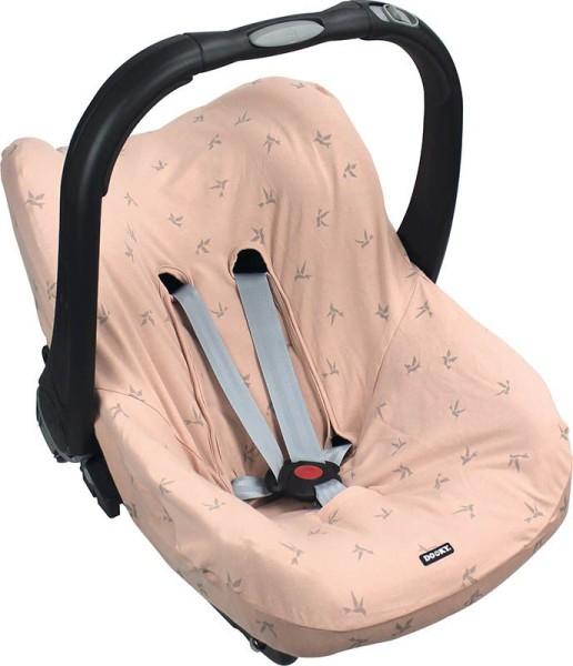 Dooky Seat Cover 0+ - Babyschalenbezug / Pink Origami-Schwalben