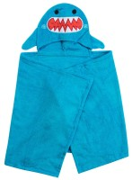 Kinder Kapuzenbadetuch - Sherman der Hai
