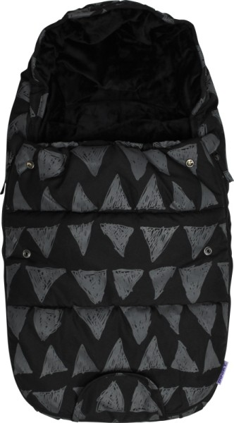 Dooky Footmuff/Fußsack - Black Tribal - Small