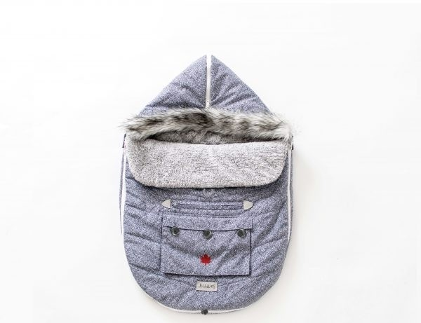 On The GO Collection - Fußsack - Salt & Pepper Grey