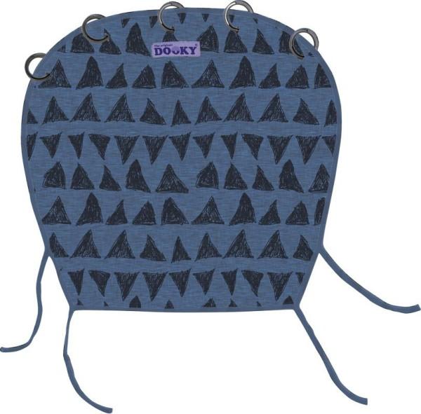 Dooky Universal Cover Design - Sonnenschutz für Kinderwagen / UPF 40+ / Blaues Tribal