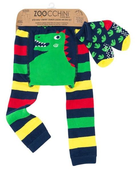 Baby Leggings & Sock Set (12‐18M) ‐ Devin der Dinosaurier