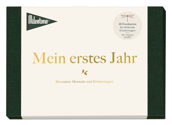 """Milestone™ ABC Baby-Fotokarten - """"Mein erstes Jahr"""" / 40 Karten"""