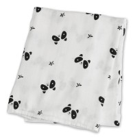 Bamboo Swaddle Mulltuch (modern collection) - Panda