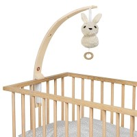 Baby Amuse - Bett Mobilehalter - Natur