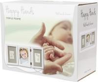 Happy Hands - Hand & Fußabdruckset - Bilderrahmen 3-teilig