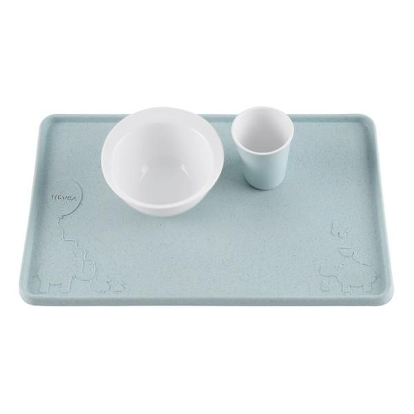 Hevea Kinder-Tischset/Platzset - Naturkautschuk / upcycled / Blue