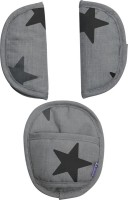 Dooky Universal Pads - Grey Stars