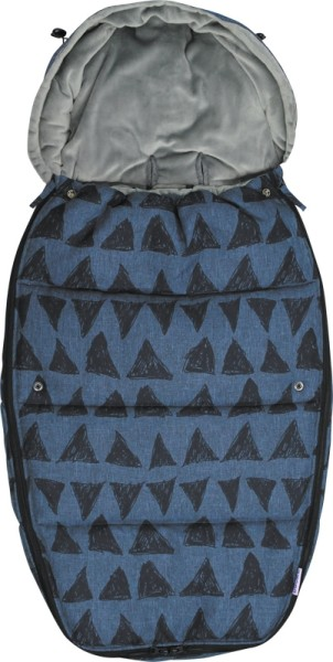 Dooky Footmuff/Fußsack - Blue Tribal - Large
