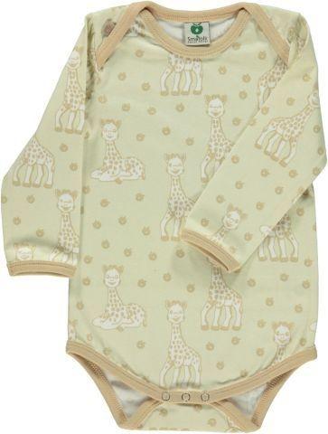 Småfolk Body Sophie la girafe beige Gr. 56
