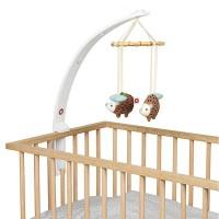 Baby Amuse - Bett Mobilehalter - Weiß