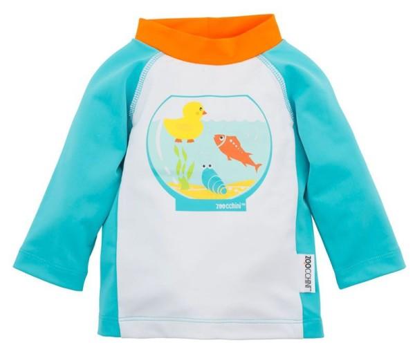 UV-Schutz-Shirt / Rashguards  - Fishbowl Buddies (12-24M)