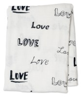 Bamboo Swaddle Mulltuch (modern collection) - Love