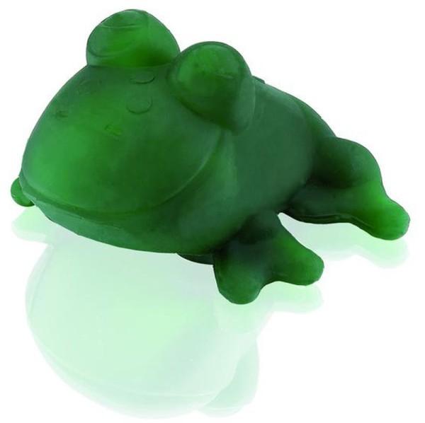 HEVEA Badetier Fred - Naturkautschuk / grüner Frosch