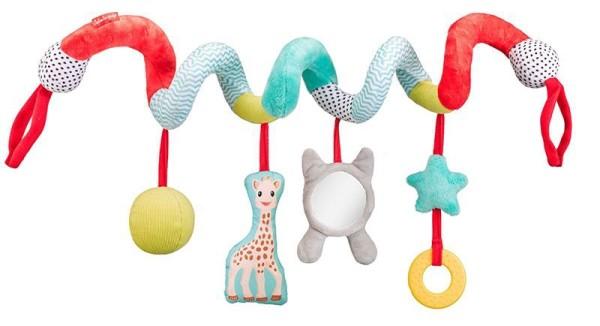 Sophie la girafe® - Kinderwagenkette Activity-Spirale / Textil