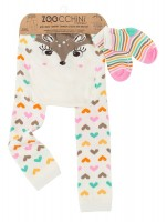Baby Leggings & Sock Set (12‐18M) ‐ Fiona das Rehkitz