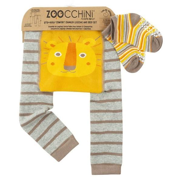 Baby Leggings & Socken Set - Leo der Löwe (12-18M)