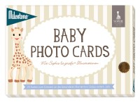 Baby Photo Cards von Milestone™- Sophie la girafe - deutsche Version - Einzelset