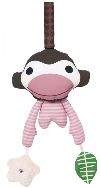 Affe Asger - pink, Activity Toy
