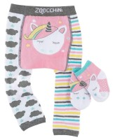 Baby Leggings & Socken Set - Allie das Einhorn (12-18M)