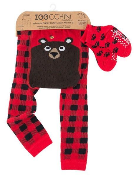 Baby Leggings & Sock Set (12‐18M) ‐ Bosley der Bär