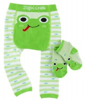 Baby Leggings & Socken Set - Flippy der Frosch (12-18M)