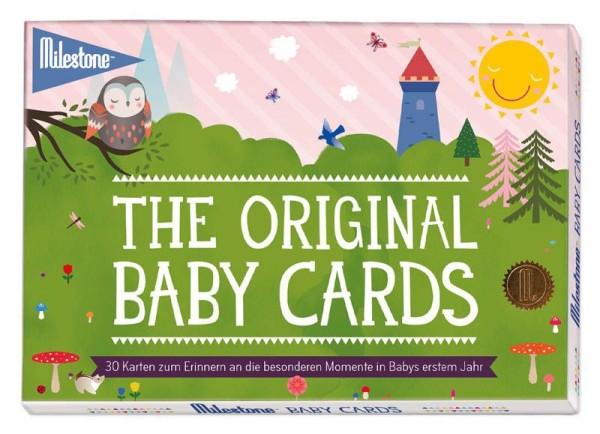 "Milestone™ Baby-Fotokarten - ""The Original Baby Cards"" / deutsch / 30 Karten"