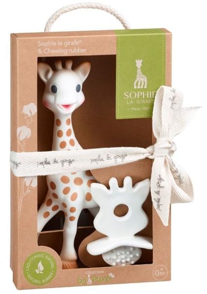 Sophie la girafe® + 1 Beißring/Zahnungshilfe SO''PURE
