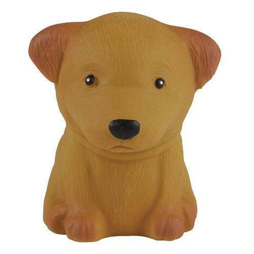 HEVEA Babyspielzeug - Greifling Hund / Pudel / Naturkautschuk