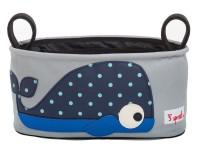 Kinderwagentasche Wal