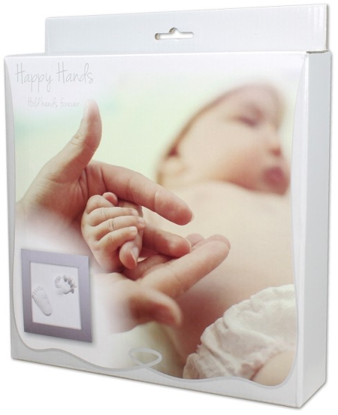 Happy Hands - Hand & Fußabdruckset / 3D Deluxe