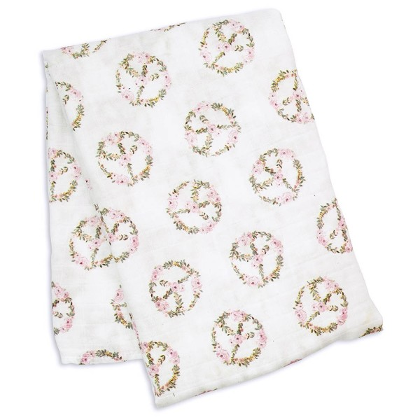 Bamboo Swaddle Blanket - Peace