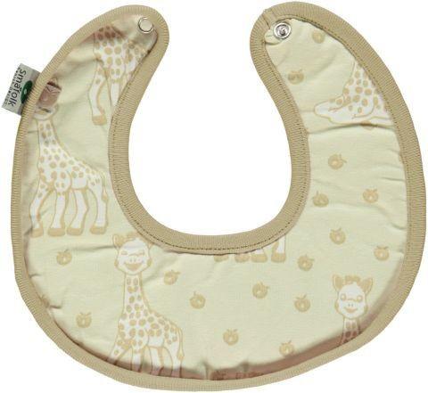 Småfolk Lätzchen Sophie la girafe beige - OEKO-TEX® 100
