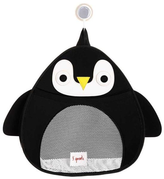 3 Sprouts - Badenetz für Spielzeug / Pinguin