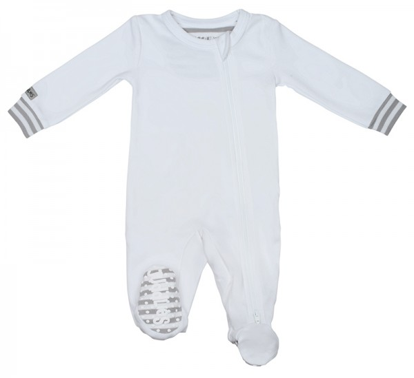 Essential Collection - Strampler Baumwolle (Bio) - White (M/6-12 M./7-10 kg)
