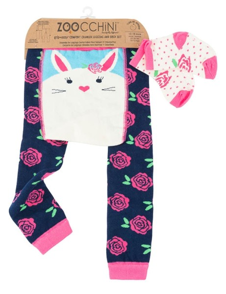 Baby Leggings & Sock Set (12‐18M) ‐ Bella das Häschen