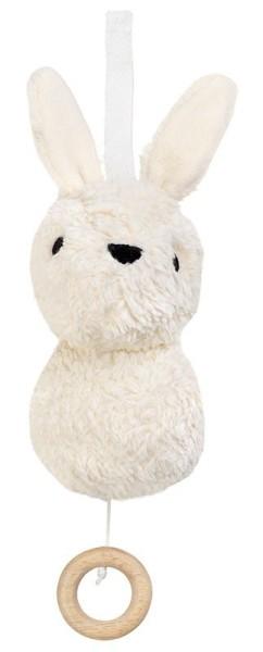 Spieluhr Kaninchen Aura - weiß