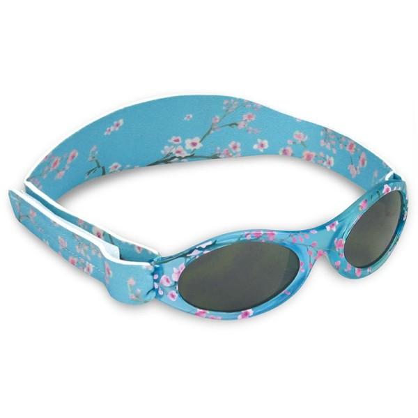 Dooky Baby Banz - Baby-Sonnenbrille / Neopren + Klett / 100% UV-Schutz / Blüten