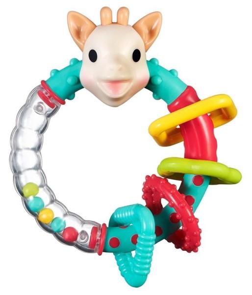 Rassel Multistruktur Sophie la girafe® (Geschenkbox)