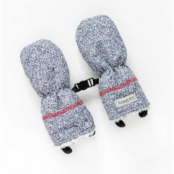 On The GO Collection - Fäustlinge - Salt & Pepper Grey (6-12M)