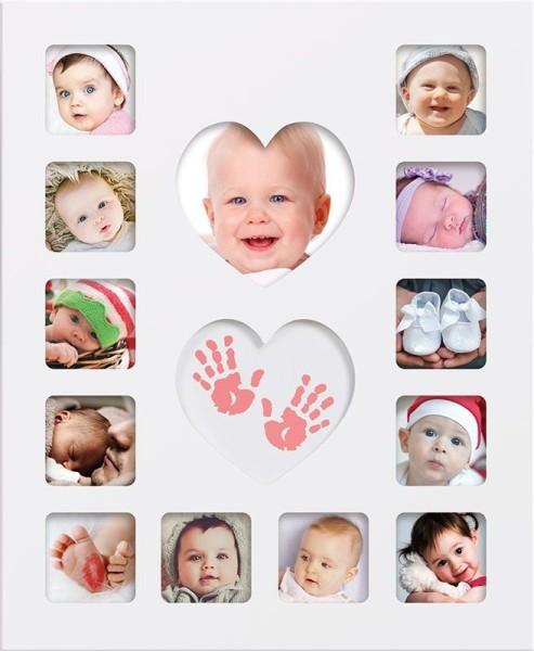 Happy Hands - Baby first year / Bilderrahmen