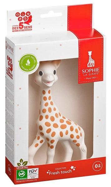 Sophie la girafe® (Geschenkkarton Fresh Touch rot/weiß)