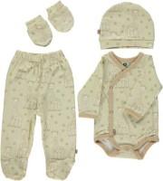 Småfolk Neugeborenen Set Sophie la girafe beige Gr. 50
