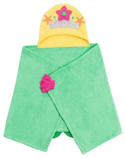 Kinder Kapuzenbadetuch - Marietta die Meerjungfrau