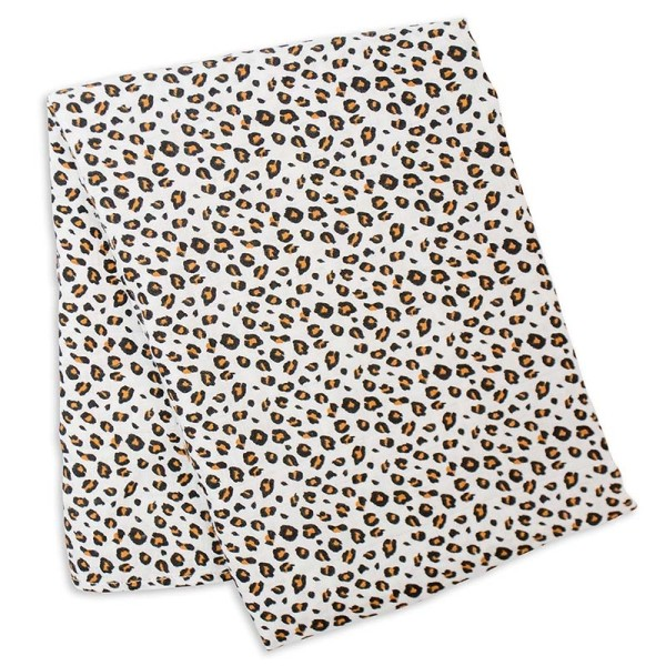 Bamboo Swaddle Blanket - Leopard